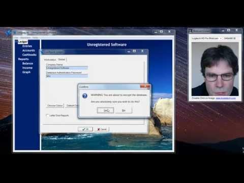 LedgerLite - Database Encryption