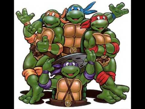 Teenage Mutant  Ninja Turtles 1987 Cartoon Tv Theme Remixed