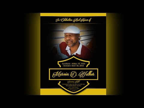 "MARVIN D. WALKER ""OFFICIAL"" MEMORIAL SLIDESHOW (EXTENDED)"