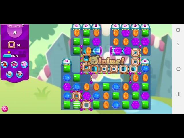 Candy Crush Saga Level 5012