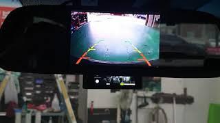 TG그랜져룸미러모니터 후방카메라작업