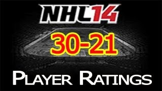 NHL 14 Player Ratings: Top 50 Players | 30-21 Thumbnail