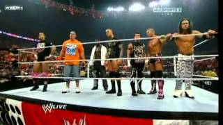 Team Cena Fight With Nexus Best WWE Moment