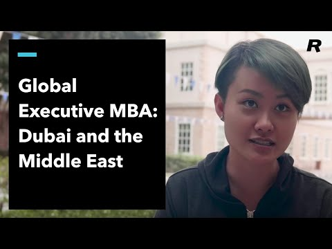 Global Executive MBA: Dubai and the Middle East