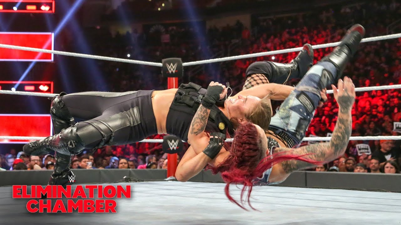 Ronda Rousey overpowers Ruby Riott: WWE Elimination Chamber 2019 (WWE Network Exclusive)