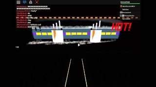 Roblox Railroad Museum, Festival of lights (HOT CHOCOLATE!!)