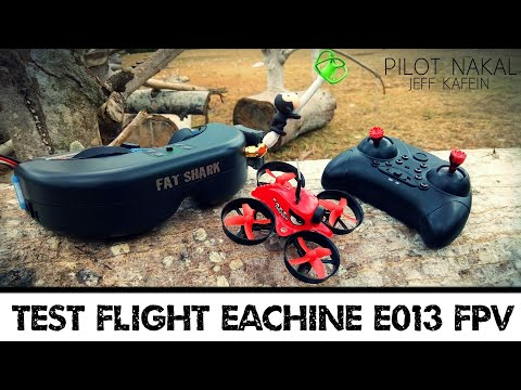 TEST FLIGHT Eachine E013 FPV 1st in Indonesia from Pilot Nakal