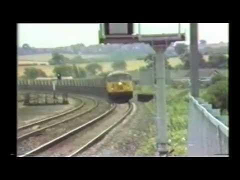 End Of BR Blue - Langley Mill & Toton (Summer 1986).wmv