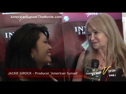 VegasNET TV  Jackie Giroux, AMERICAN SUNSET Movie Producer