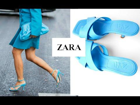 Шоппинг влог #ZARA.Обзор 40 пар ОБУВИ.Весна-Лето 2020