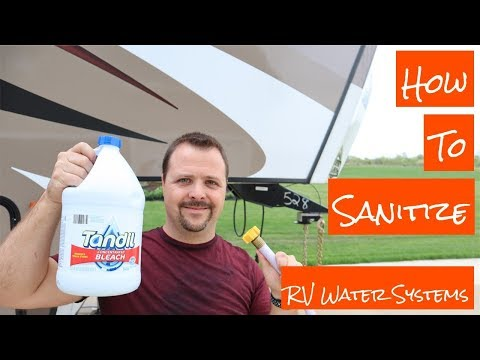 how to sanitize an RV water tank - Do it Yourself