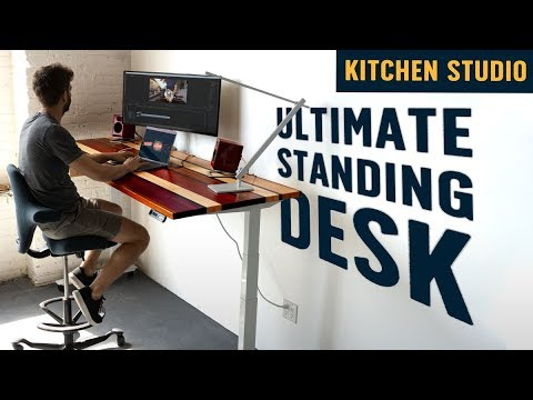 I Built a Completely Customized Standing Desk (and it's epic!)
