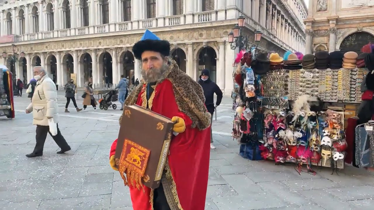 The Last Carnival Day in Venice During Covid Period