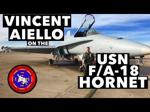 Interview with Vincent Aiello on the USN F/A-18 Hornet