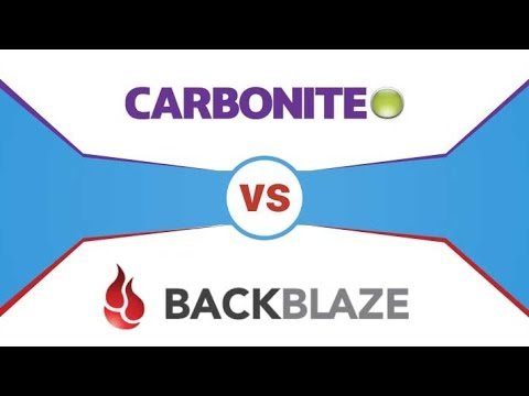 Backblaze vs Carbonite ✪✪ After 4 Years That's What I Recommend