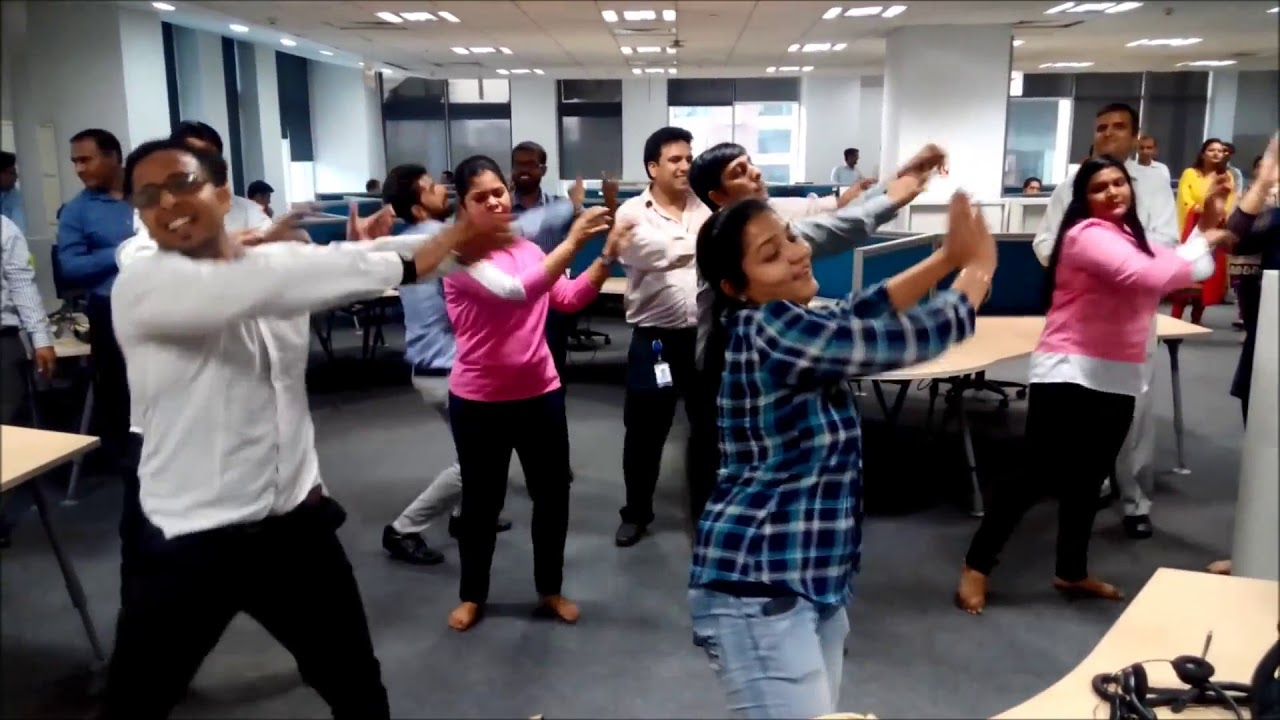 DXC CSC+HPE Noida Flash Mob 2017