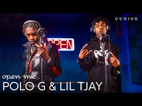 "Polo G & Lil TJay ""Pop Out"" (Live Performance) 