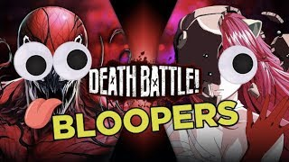 Carnage vs Lucy BLOOPERS