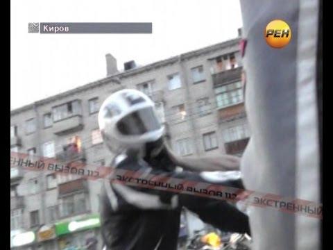 Байкеры против дагестанцев.