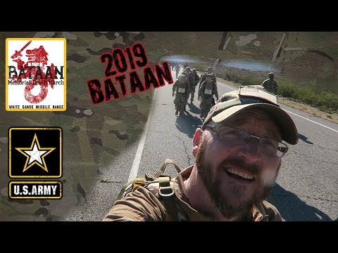 The 2019 Bataan Memorial Death March | My first