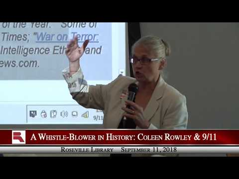 A Whistle-Blower in History: Coleen Rowley & 9/11