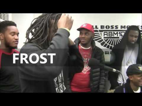"""CRAZY PHILLY CYPHER ft  S.4.G, FROST, PUNCHLINE KID AND MORE """"MUST SEE"""" RADIO SHOW)"""