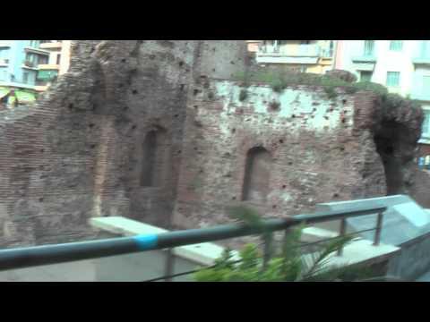 ГРЕЦИЯ: Римские бани в Салониках... THESSALONIKI GREECE