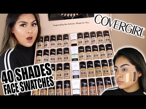 THE TRUTH... NEW Covergirl TruBlend Matte Made Foundation