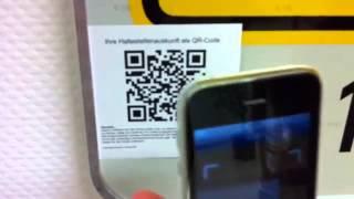 Kontaktdaten über den QR-Code speichern
