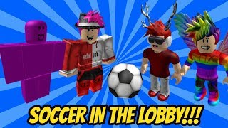 ROBLOX ASSASSIN YOUTUBER SOCCER TOURNAMENT!! (Ft. iEthanXL, Gaming Fusion, Weirdbread2003)