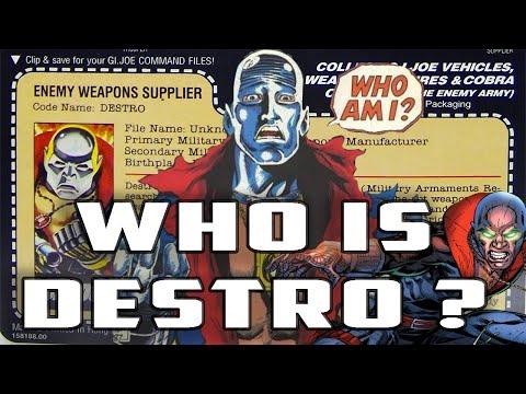 History And Origin Of GI Joe's DESTRO!