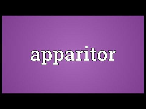 Header of apparitor
