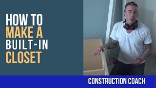 A custom bedroom closet is crucial for maintaining tranquility within the most relaxing space in your home. The Coach shows you