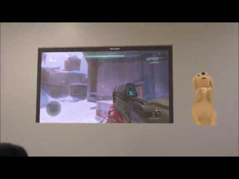Halo 5 Easter Egg - Secret Snowman on Stasis (HoloLens Test)