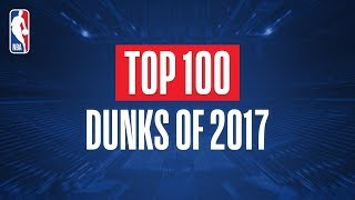 Download Top 100 Dunks From 2017 Mp3 and Videos