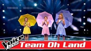 Ida, Mathilde & Ella Marie Team Oh Land synger Grethe & Jørgen Ingmann 'Dansevise' – Voice Junior