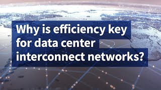 Why Is Efficiency Key for Data Center Interconnect Networks?