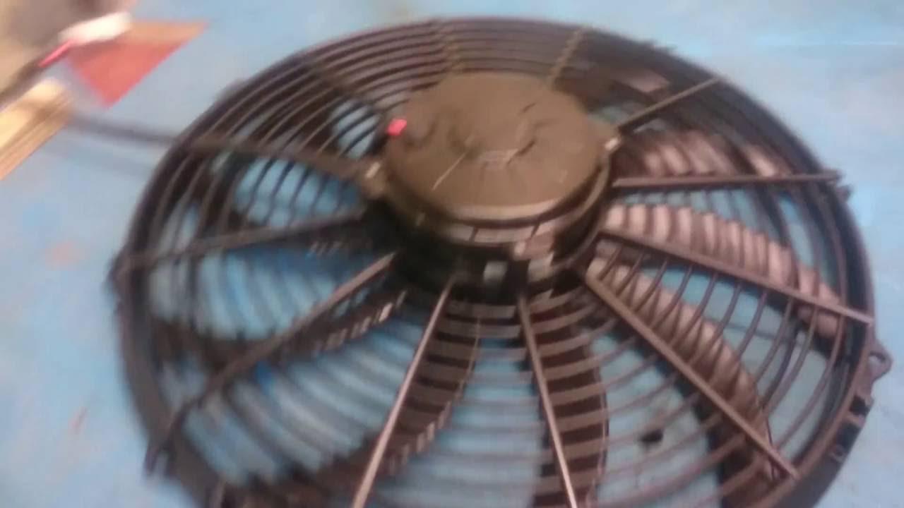 Spal Radiator Fan Vs Ripoff Ebay