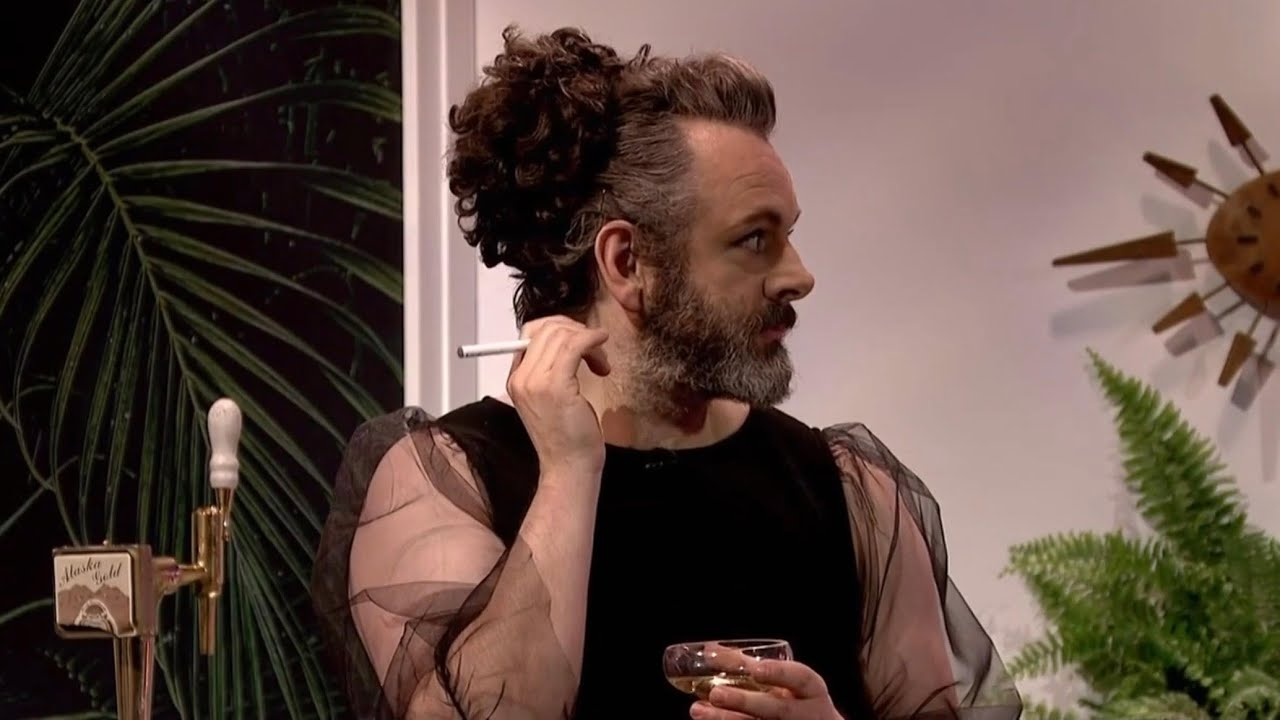 Michael Sheen As Mrs Robinson Without The Transphobia Youtube