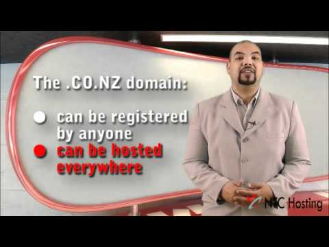 .CO.NZ Domain Registration/ Transfer with NTC Hosting (HD)