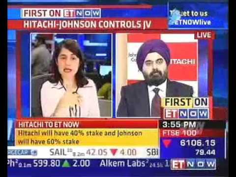 ET Now Interview with Mr.Gurmeet Singh, Hitachi Home & Life Solutions
