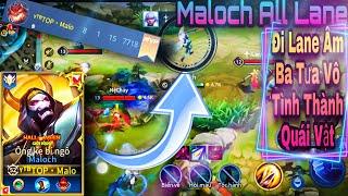 Maloch Mùa 16 | Maloch Đi Lane Âm Ba Tưa Vô Tình Thành Sát Thủ | Dual Rank Cùng Ryoma Channel