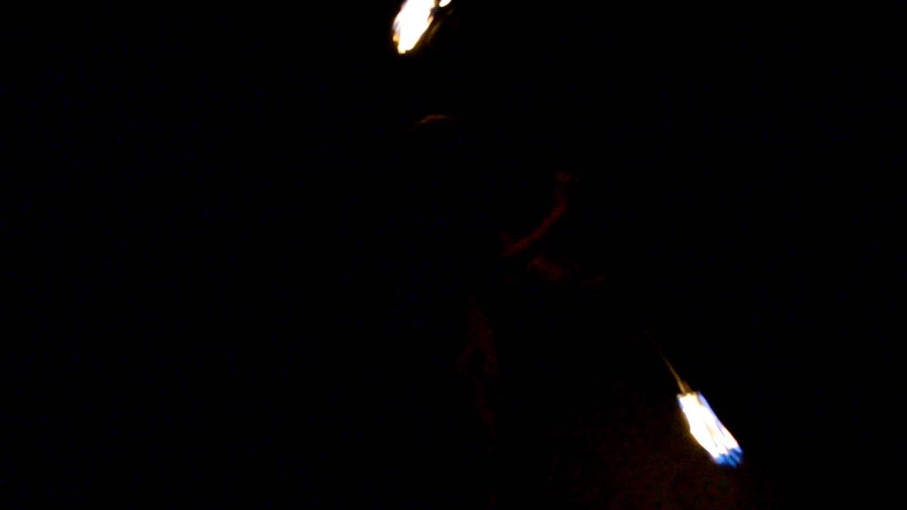 Matt spins fire