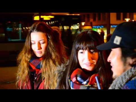 Interview in Deutschland: sprechen die asiatischen Jungs die europäischen Mädchen an?