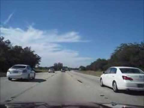 Driving from Orlando Florida (Kissimmee) to Tampa Florida