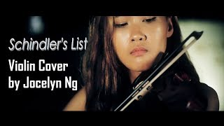 [Caption ON] Schindler's List Movie Soundtrack Violin Theme, John Williams - Music Cover by Jocelyn