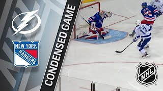 03/30/18 Condensed Game: Lightning @ Rangers