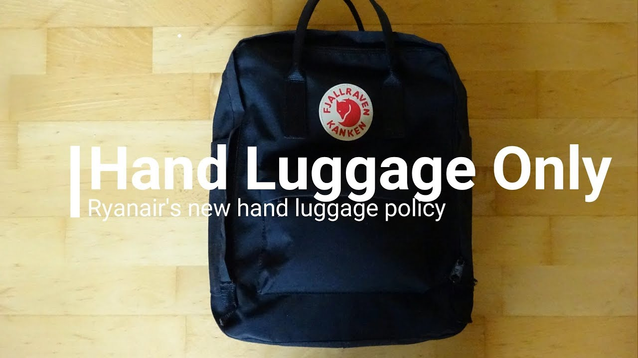 Hand Luggage Only Ryanair S New Baggage Policy
