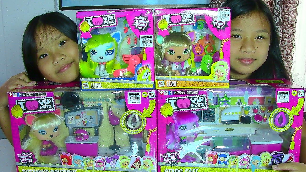 Toys For All : I vip pets special editions tiffany s boutique stars