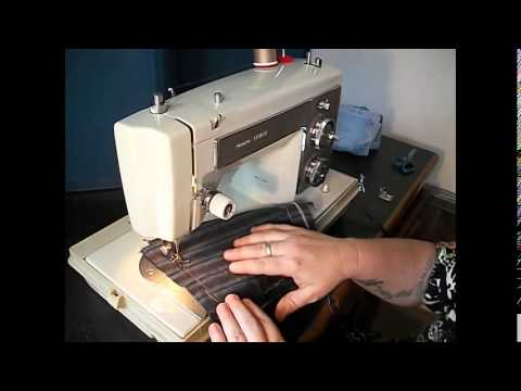 Demonstration Video Of A Vintage Kenmore 158.14100  Sewing Machine